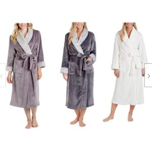 Carole Hochman Ladies Plush Wrap Robe - Size&Color